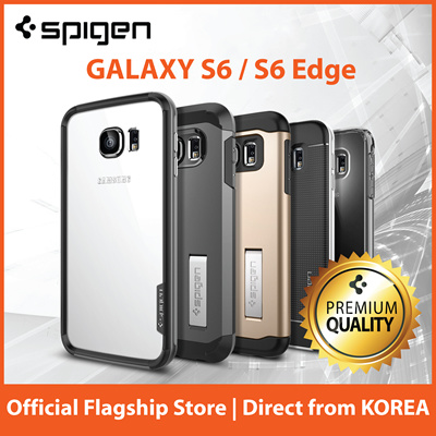 brand new 8fc64 3efa2 SPIGENSpigen Galaxy S6 Case Samsung S6 Edge Case S6 Edge+ Casing by Spigen  Case Screen Protector