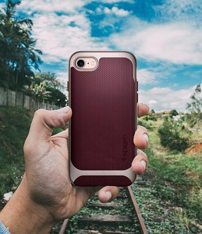 iphone 8 case neo hybrid herringbone