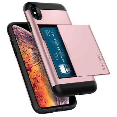info for 57d46 7d40f SPIGENSpigen Slim Armor CS Designed for Apple iPhone XS MAX Case  Dual-layered for extreme drop-protection