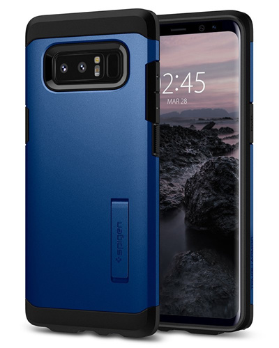 buy popular 416e9 ca2ea SPIGENSpigen Tough Armor Galaxy Note 8 Case with Kickstand and Extreme  Heavy Duty Protection Air Cushion