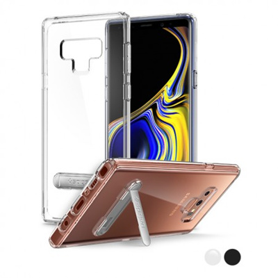 official photos 156be 5530e SPIGENSpigen Ultra Hybrid S Galaxy Note 9 Case with Air Cushion Technology  and Magnetic Metal Kickstand