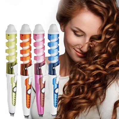 Qoo10 - Spiral Magic Curler Electric Hair Curler Roller Hair ...