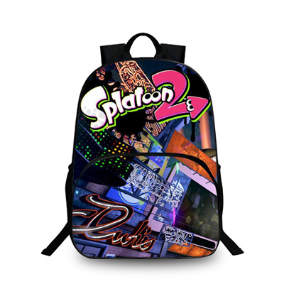 6fdbcd4cf8b4 Qoo10 - Splatoon 2 School Laptop Backpack Colorful School Bags For  Teenagers B...   Kids Fashion