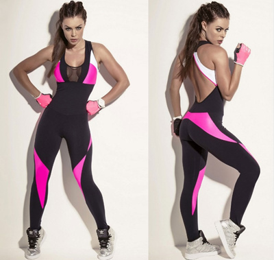 qoo10 sport clothing one piece yoga dance jumpsuit workout active