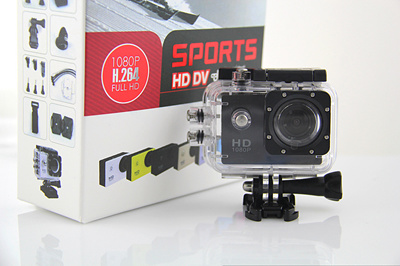 Foto & Camcorder Action Kamera Sports Hd Dv 1080p Fullhd