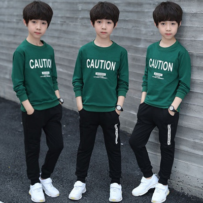 1051a4d78 Spring 2019 new boy suit who two-piece han edition childrens clothing  wholesale childrens clothing o