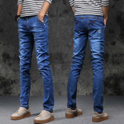 5820fd3a37 Qoo10 - Spring and summer men s jeans, male body, Korean style, young men  and ...   Men s Apparel