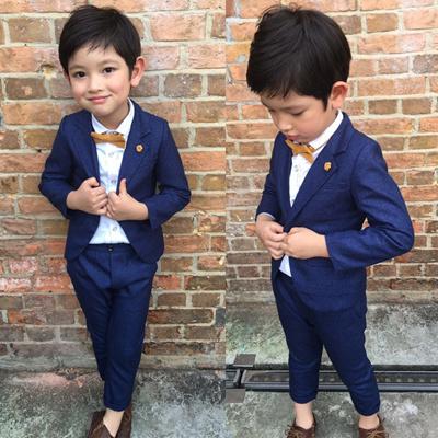 aa132d9c1516 Qoo10 - Spring Autumn Toddler Baby Boys Clothes Set Gentleman Formal ...
