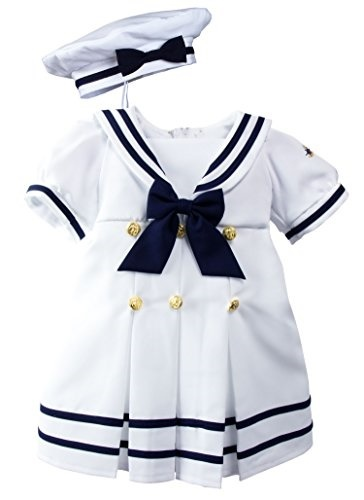 98303084f Qoo10 - Spring Notion Baby Toddler Girls Nautical Sailor Dress with Hat :  Kids Fashion