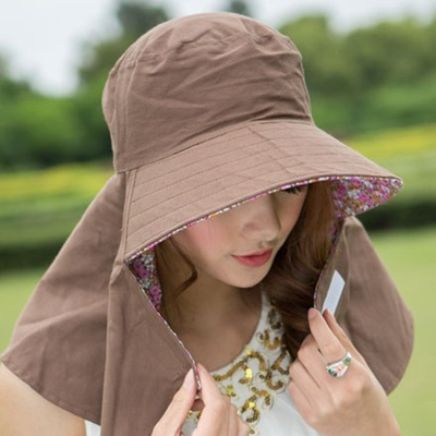 6200e340e76 Qoo10 - Spring summer sun UV Sun Hat Lady face-covering by bike designer Bo  du...   Fashion Accessor.