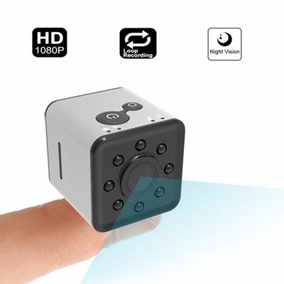 SQ13 Mini Camera WiFi Hidden Camera, Mini Spy Camera HD 1080P Camcorder  Wireless Network CameraSp