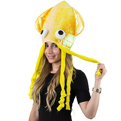 Qoo10 - Squid Hat - Funny Fun and Crazy Hats in Many Styles - Funny Party  Hats   Kids Fashion 674637a3b6b