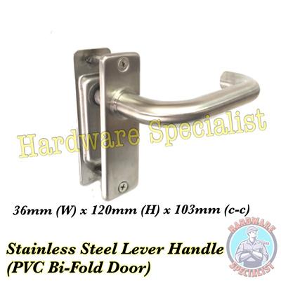 Qoo10 Stainlees Steel Lever Handle For Pvc Bi Fold Door