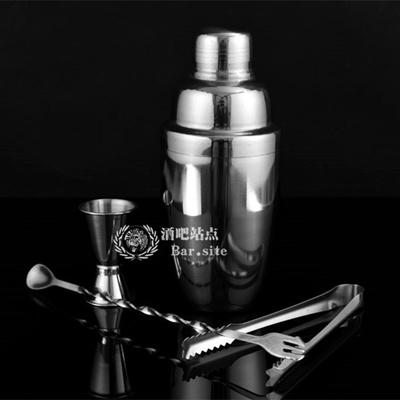 Stainless steel cocktail shaker set bar site tool for Japanese-style  cocktail with crushed Tea Cup s
