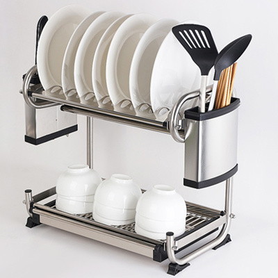 stainless steel dish rack qoo10 dish rack dryer kitchen amp dining 29087
