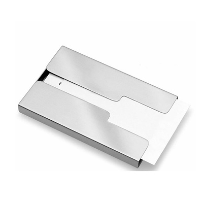 Qoo10 stainless steel thumb slide out business name credit card stainless steel thumb slide out business name credit card holder pocket case colourmoves