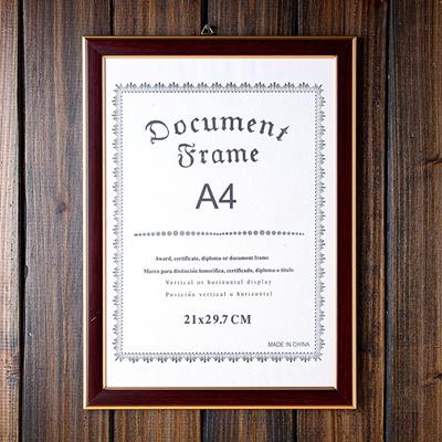 Qoo10 A4 Certificate Frame Furniture Deco