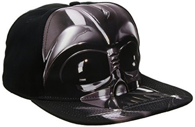 b0e37d770 Star WarsStar Wars Mens Stormtrooper Embroidery Dad Baseball Cap, Black,  One Size