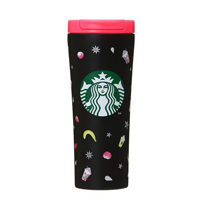 Starbucks Tumbler Limited Edition Starbucks Summer Md Japanese Star Bucks Stainless Steel Matte Black Tumbler 355ml