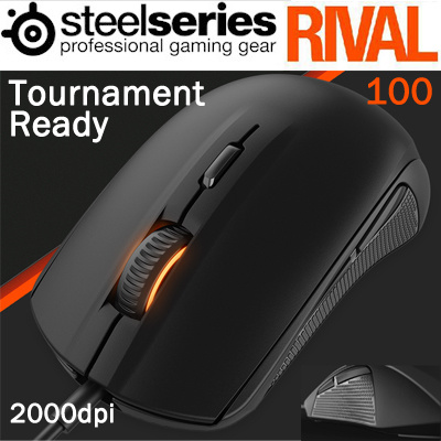 SteelSeries Rival 100 PC Bang Edition Mouse Driver (2019)