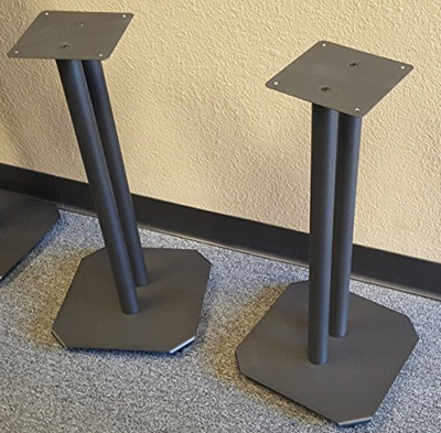 Steel Speaker Stands For Fill Able Small To Medium Bookshelf Speakers By Vega A V Systems Sold As
