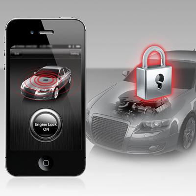 Qoo10 Steelmatea881 Car Engine Center Lock Unlock For Smartphone