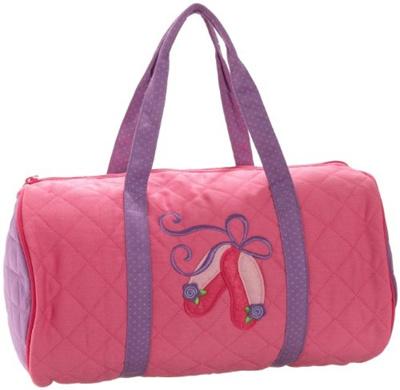 48fcfc2574fb Qoo10 - Stephen Joseph Little Girls Quilted Duffle Bag