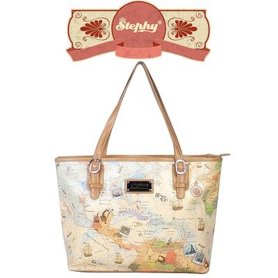 Qoo10 top handles bag wallet stephy brand sb035 cb world map beige design printed sling bag shoulder bag gumiabroncs Image collections