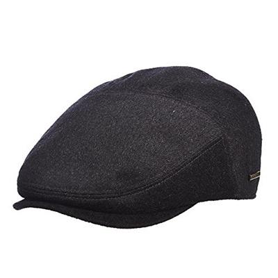 cdb110735d6 Qoo10 - Stetson Mens Cashmere Blend Ivy Cap with Pin   Men s Bags ...