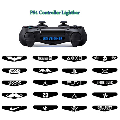 Qoo10 stickers for playstation 4 ps4 dualshock gamepad controller stickers for playstation 4 ps4 dualshock gamepad controller led light bar decal pvc sticker aloadofball Image collections