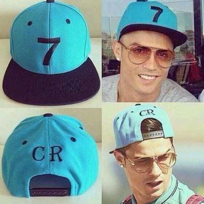 store 2017 new Cristiano Ronaldo gray CR7 Baseball Caps hip hop Sports  Football hat menampwomen Snap 9918aaaab62