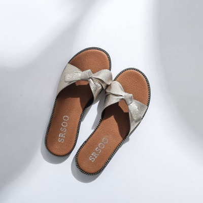 74f1ff745cd3 store New 2018 Women Beach Sandals Fashion Butterfly Knot Slippers Summer  Women Flat Shoes Woman Fla