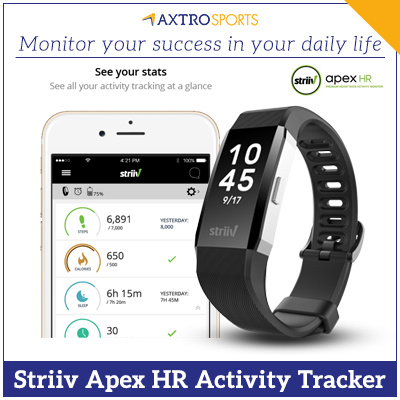 Qoo10 - Striiv Apex HR - Advanced Continuous Heart Rate Monitor