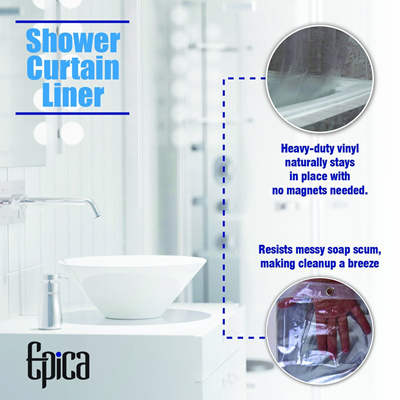 Qoo10 Strongest Mildew Resistant Shower Curtain Liner On The Market 100 Ant Furniture