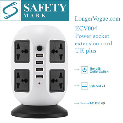 Qoo10 Stylish Usb Charger Tower Extension Cable Cord Universal