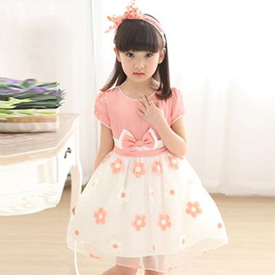 2dbb1e74602 Qoo10 - Summer dresses, girls 9 10 2016 4 new 3 girl princess dress 5 6  childr...   Kids Fashion