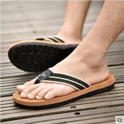 6960ce966 Summer Flip-Flops mens flip-flop shoes non-slip personality beach shoes  large