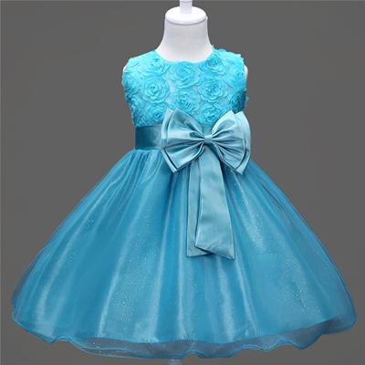 Qoo10 - Summer flower-red wedding dress princess dress Children s ...