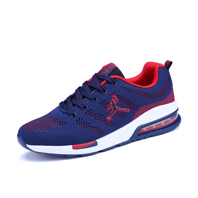 75a0df4591a9 Summer hollow men s cushioned shoe fly line knitted shoe breathable casual  shoes sneaker net running