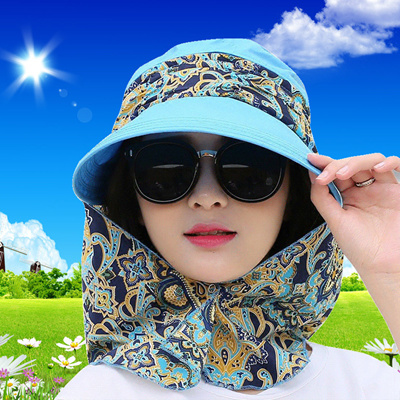 Qoo10 - Summer ladies Hat Korea version large collapsible Sun Hat UV bike  cove...   Fashion Accessor. c4d6f5cb1524