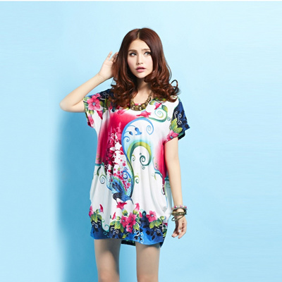 06ba3f94c08 Qoo10 - Summer styles foreign trade plus size women s clothing wholesale  Korea...   Women s Clothing