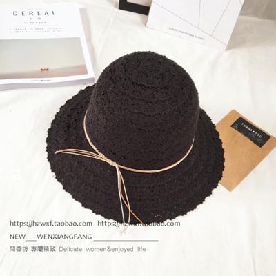 2385592b268 Qoo10 - Summer Travel beach big eaves straw hat outdoor visor hat  collapsible ...   Men s Bags   Sho.