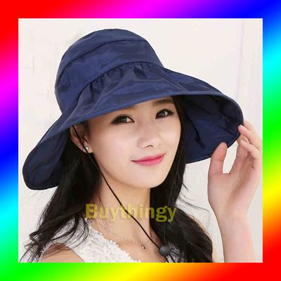 42ae49c4a77 Qoo10 - UVA UVB SUN HAT CAP   Fashion Accessories