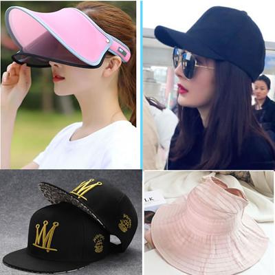 4e4661ac01e Qoo10 - Sun Hat UV women men kids caps Korean Summer baseball Baby Children  B...   Fashion Accessor.