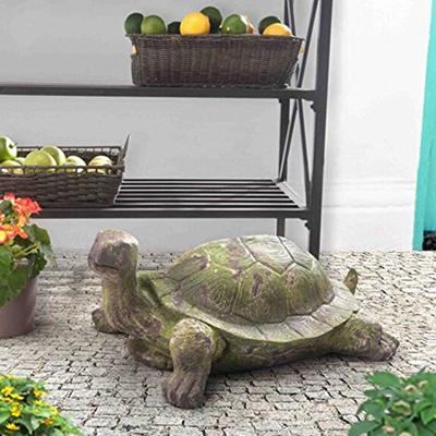 Qoo10 Sunjoy Green Finish 25 Large Garden Tortoise Statue