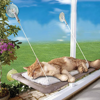 Awesome Sunny Seat Cat Bed Cat Window Perch Window Seat Suction Cups Space Saving Cat Hammock Andrewgaddart Wooden Chair Designs For Living Room Andrewgaddartcom