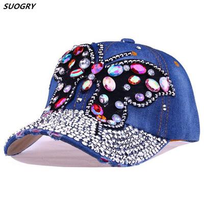 Qoo10 - SUOGRY Summer Cool Big butterfly Baseball Cap Snapback Hiphop Caps  Wom...   Fashion Accessor. e05886dd661