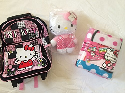 Qoo10 super cute combo pack hello kitty large embroidered