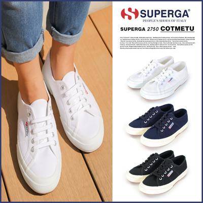【SUPERGA2750COTMETU】ブランドスペルガSUPERGAイタリアレディースシューズ靴スニーカーぺたんこペタンコフラットスポーツアウトドア