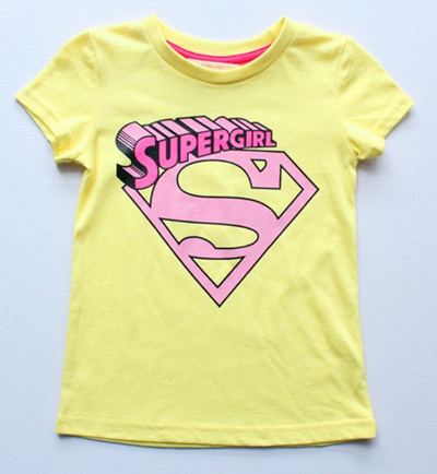 12a18ab48 Qoo10 - Supergirl girl children teenager t-shirt (3455) superman taylor  swift : Kids Fashion